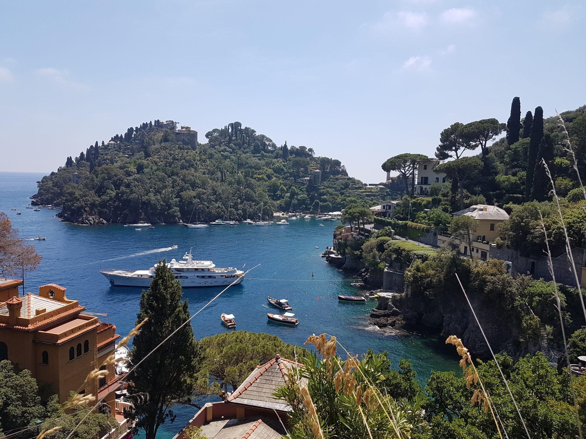 Scorci porto di Portofino